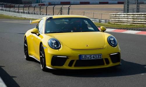 Porsche 911 GT3'den rekor