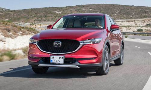Mazda'dan iki yeni model: CX-5 ve MX-5 RF