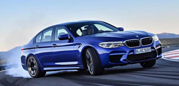 600 BEYGİRLİK YENİ BMW M5