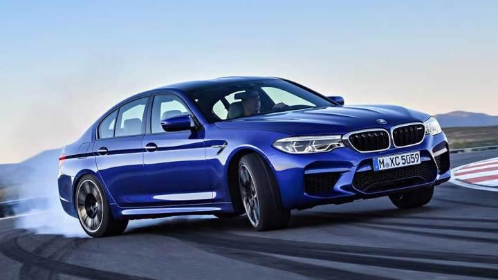 600 beygirlik yeni BMW M5