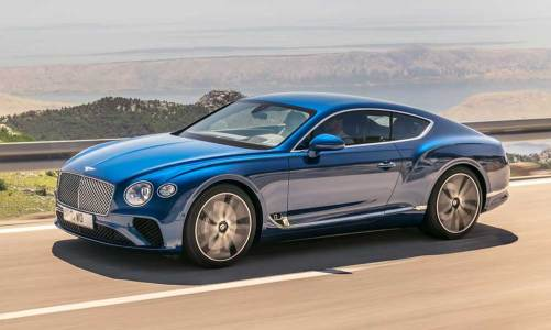 Bentley Continental GT tamamen yenilendi