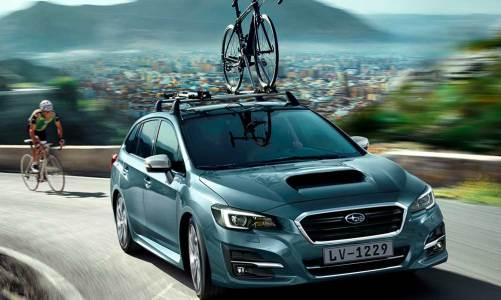Subaru Levorg'a 2018 makyajı