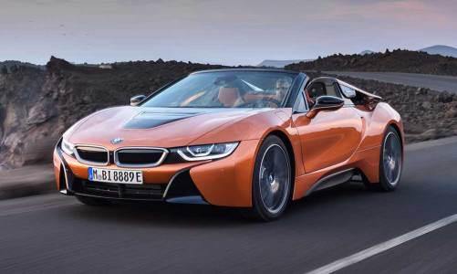 BMW i8'e roadster versiyon