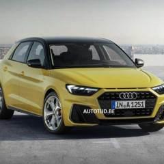 Yeni Audi A1'in ilk görüntüleri