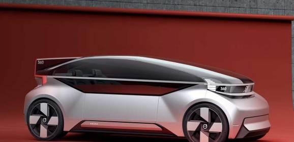 Volvo'dan otonom konsept: 360c