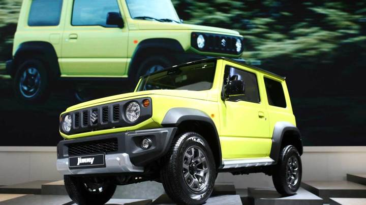 Yeni nesil Suzuki Jimny Paris'te tanıtıldı