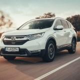 Honda CR-V Hybrid Türkiye yollarında
