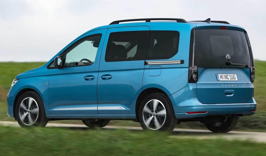 2021 yeni Volkswagen Caddy test sürüşü