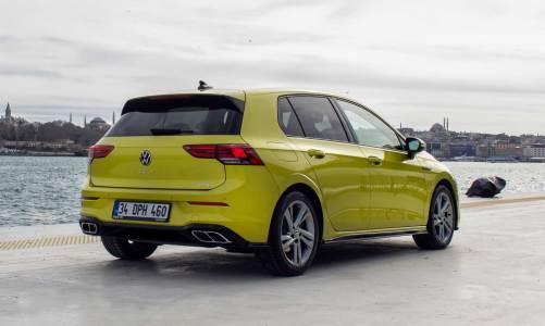 Volkswagen Golf test sürüşü