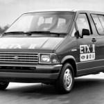 Ford Aerostar ETX II elétrico.