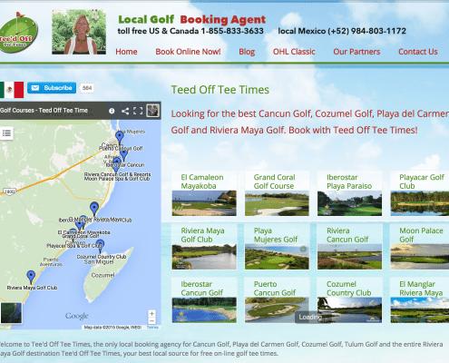 teed off tee times - Playa del Carmen Golf