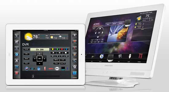Crestron Release New Home Automation Design Templates For IPad