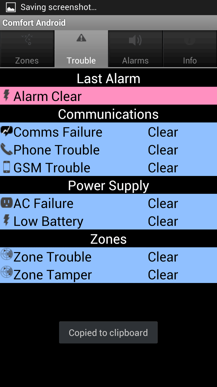 Android Apps for Cytech Comfort Security and Home Automation