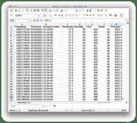 netatmo-spreadsheet-csv
