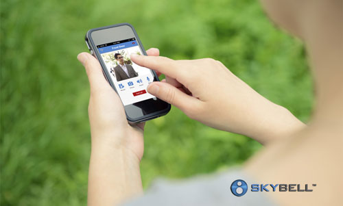 SkyBell iPhone