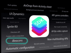 iBeacons Revealed at WWDC
