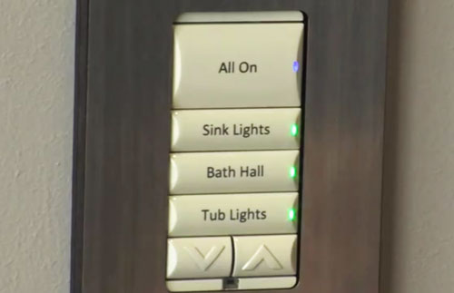 Video  Control4 Demos  U201cpanelized U201d Smart Home Lighting