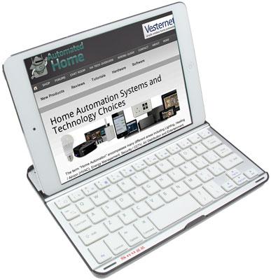 Snugg iPad mini Bluetooth Keyboard / Case - Front