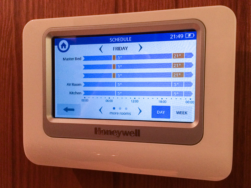 Review Honeywell Evohome Wireless Smart Home Heating