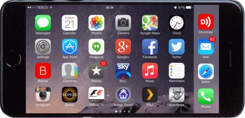 iPhone 6 Plus Landscape Horizontal