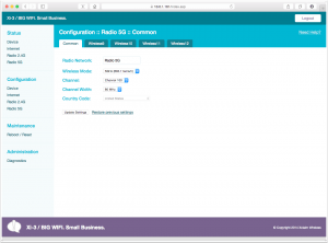 Xclaim Wireless Web Browser Interface