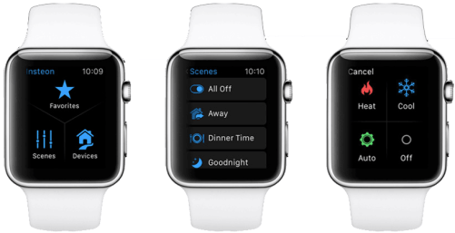 Apple Watch controls Insteon Hub