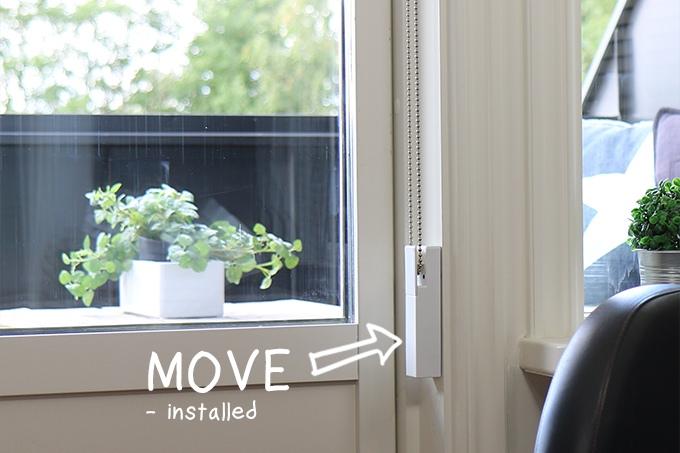 Kickstarter move solar powered motorized blind shade for Motorized solar shades reviews
