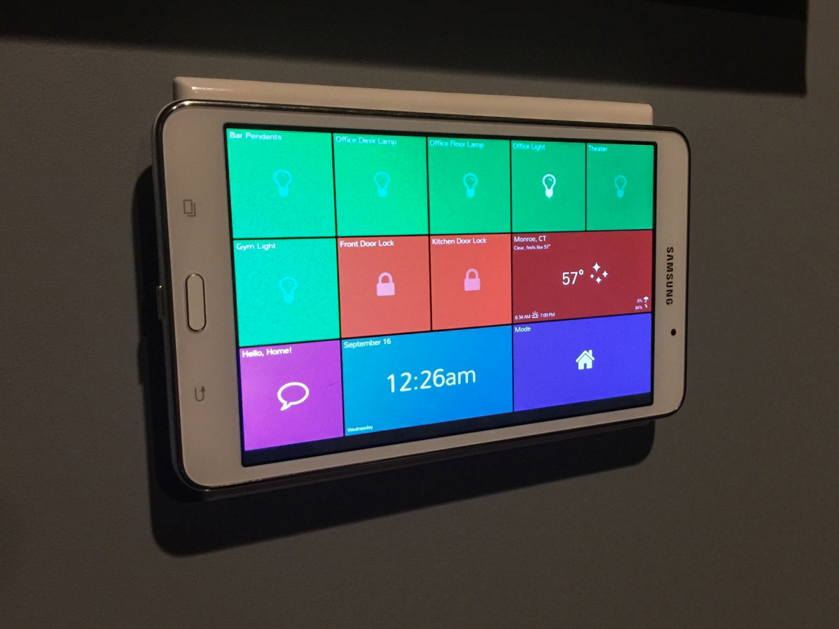 Review: SmartTiles Puts Whole House SmartThings Dashboard on Your