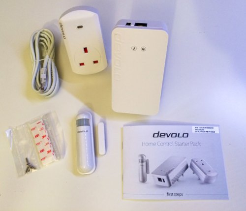Devolo Home Control Starter Pack Contents