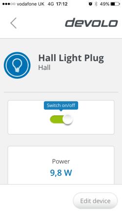 Devolo Home Control iOS App