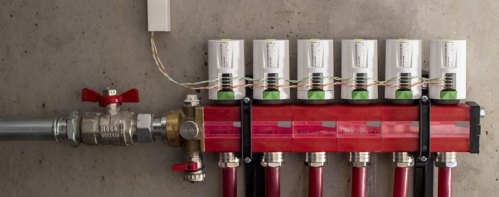 Loxone Tree - Underfloor Heating Manifold Control