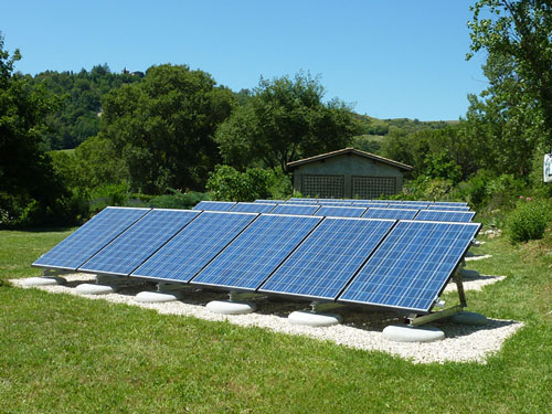 Ground Mount Solar PV Array