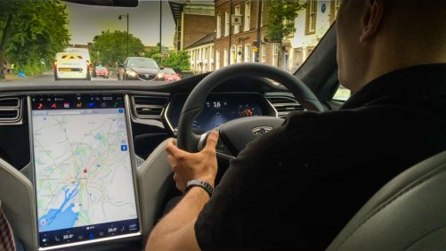Tesla Model S - Belfast Test Drive