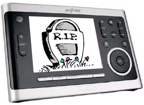 Philips Kills the Pronto Remote