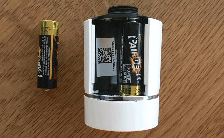 Wiser TRV Battery Installation