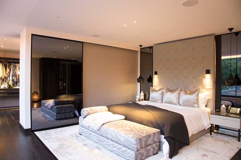 London Smart Home by Pro Install AV - Bedroom