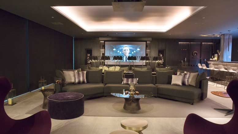 London Smart Home by Pro Install AV - Cinema