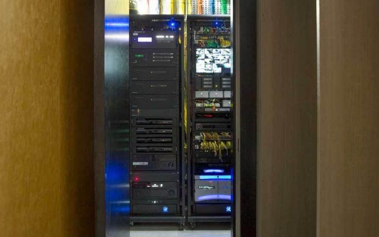 London Smart Home byPro Install AV - Rack 1