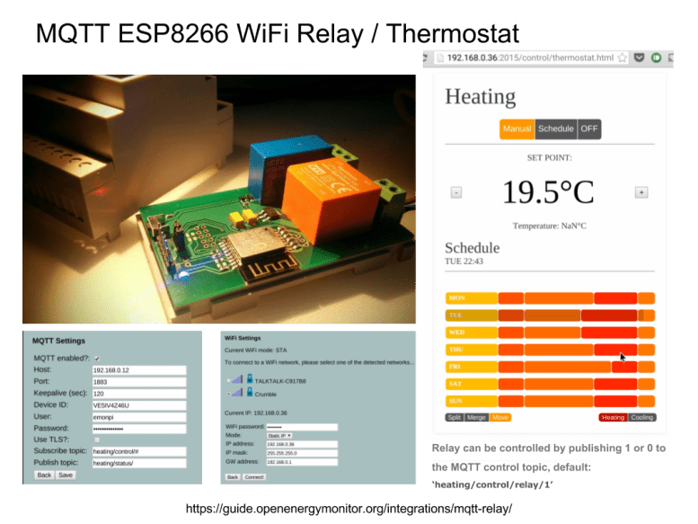 - oem mqtt relay overview - Open Energy Monitor Home Automation Hub with MQTT, nodeRED, OpenHAB & LightwaveRF – Automated Home