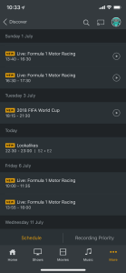 Plex DVR - Playback Recordings Remotely on iPhone