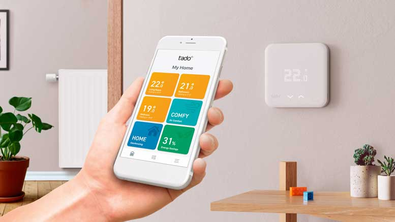 tado reveal new v3 smart home thermostats automated home. Black Bedroom Furniture Sets. Home Design Ideas