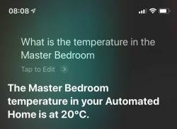 Eve Degree - Siri Control