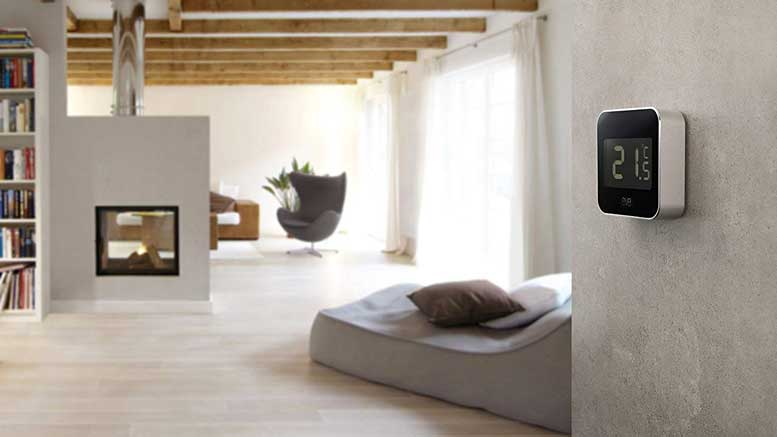 Eve Degree  - eve degree 1 - Eve Degree is Stylish Temperature, Humidity & Air Pressure Monitor with Display – Automated Home