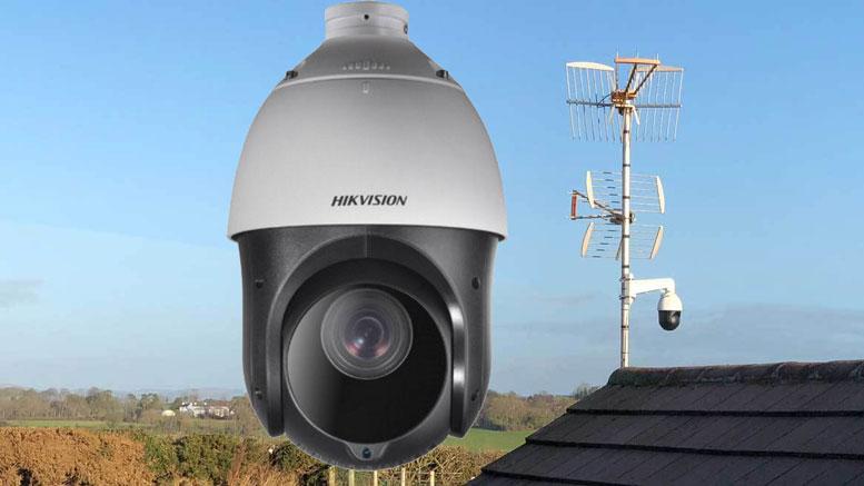 Building Site DIY CCTV PTZ IP Camera