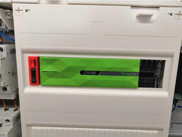 3D Printed Loxone SD Card DIN Rail Extender