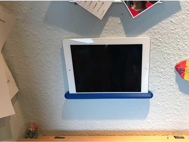 3D Printed Universal Tablet / iPad Wall Mount