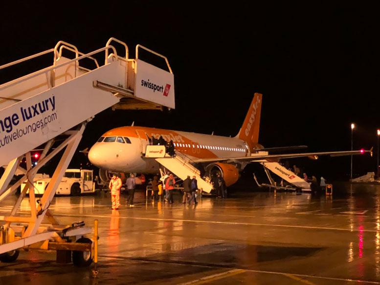 easyJet Flight from Belfast to Geneva