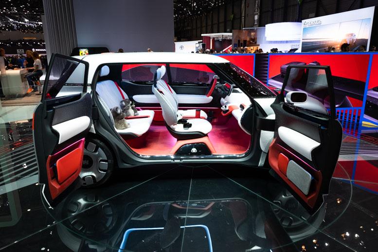 Fiat Centoventi Interior