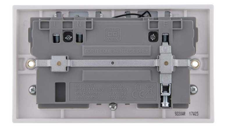 WiFi Extender Wall Socket - Rear