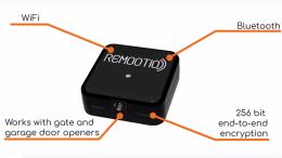 REMOOTIO IoT Garage Door & Gates Smart Home Interface